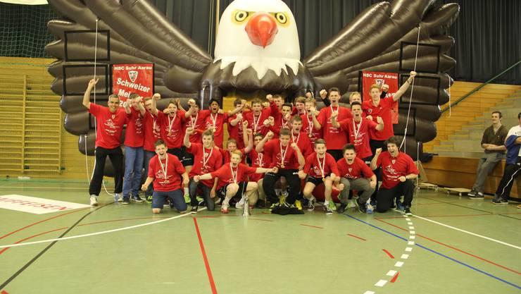 U15-Elite Schweizer Meister 2013/14