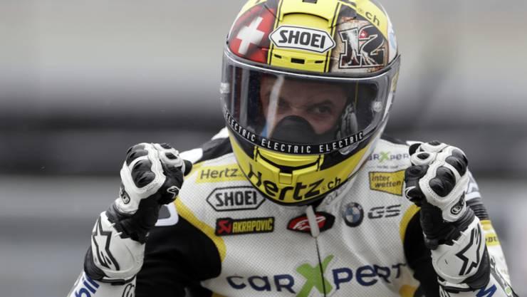 Tom Lüthi fährt ab 2018 in der MotoGP-Klasse