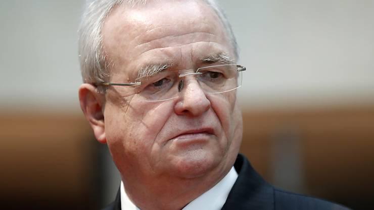 Die US-Justiz beschuldigt Ex-VW-Chef Martin Winterkorn im Abgasskandal. (Archivbild)