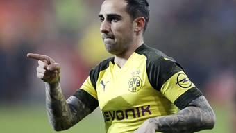 Paco Alcacers gute Tage in Dortmund sind abgelaufen