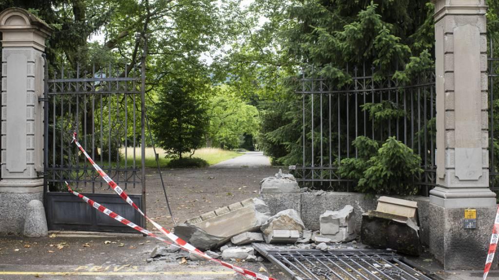 Autolenker auf Irrfahrt durch Zürich - durch Friedhof gerast