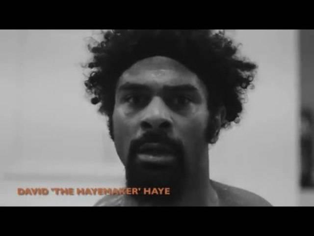 «Hayeday»: So wärmt sich David Haye für den 21. Mai auf