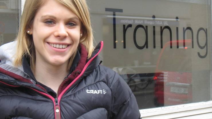 Training macht die (Welt-)meisterin: Manuela Siegrist reist an die Titelkämpfe nach Lettland. ces