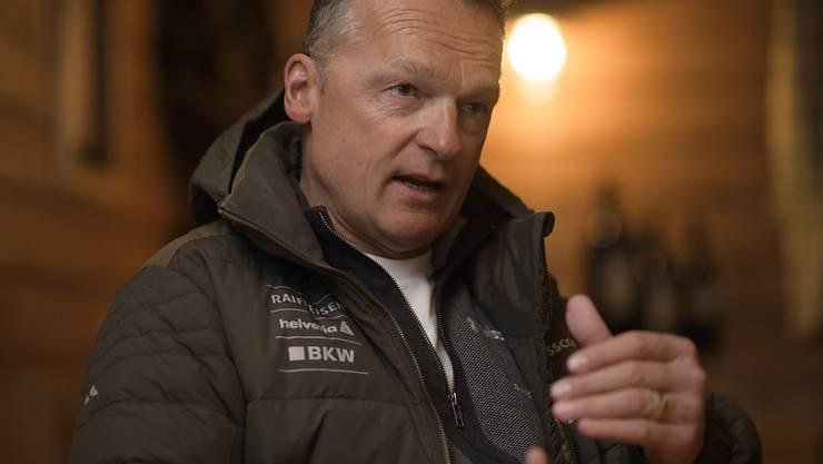 Der ehemalige Frauen-Cheftrainer Hans Flatscher ist seit zwei Jahren Nachwuchschef Alpin bei Swiss-Ski