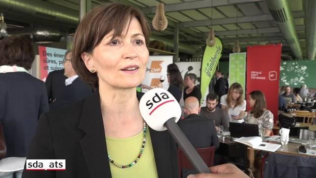 """Regula Rytz: """"Die Energiewende kostet 40 Franken pro Haushalt, nicht mehr"""""""