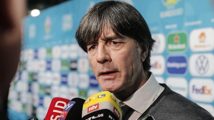 Sieht sich mit 70 nicht mehr als Trainer: Deutschlands Bundestrainer Joachim Löw