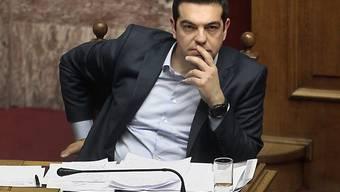 Brüssel verlangt vom griechischen Permier Alexis Tsipras Resultate