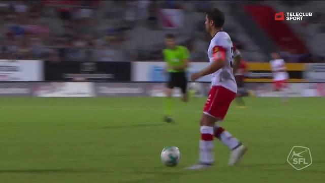 Challenge League 2018/19, 2. Runde, FC Winterthur - FC Aarau, 1:0 Karim Gazzetta
