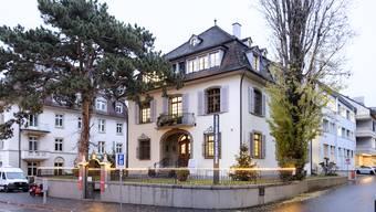Das Tropeninstitut in Basel.