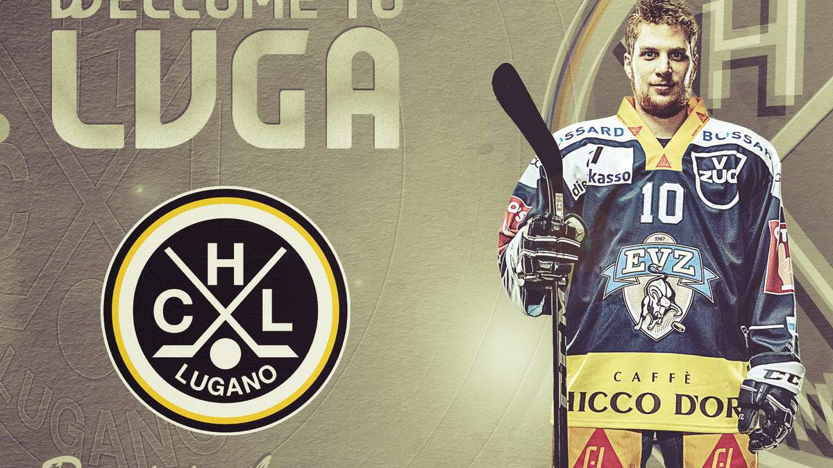 Dominic Lammer wechselt zum HC Lugano