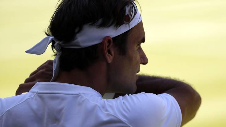 Bereit für eine starke zweite Woche: Roger Federer
