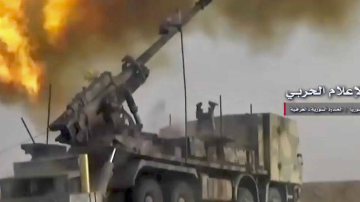 """Johann Schneider Ammann: """"In Länder wie Syrien mit einem Bürgerkrieg darf auch weiterhin nicht geliefert werden."""""""