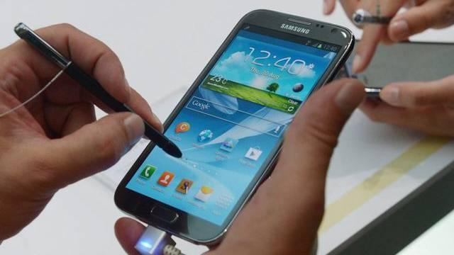 Die Smartphones sind die Verkaufsschlager von Samsung (Archiv)