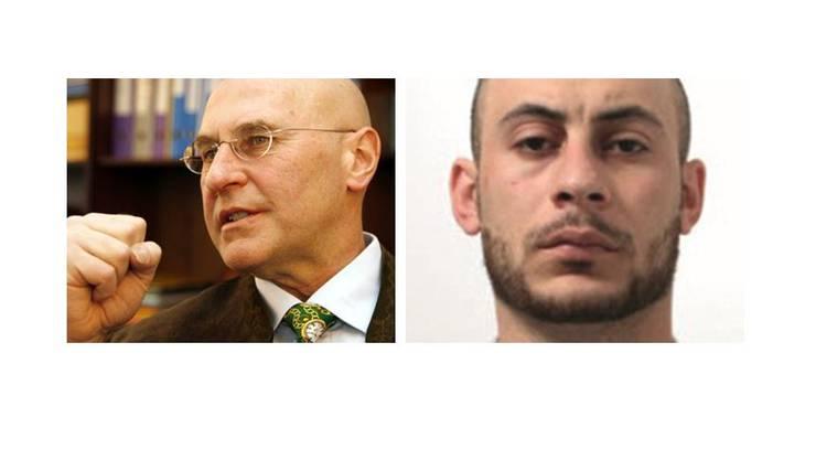 Valentin Landmann (links) ist der Pflichtverteidiger von Hassan Kiko. (rechts)