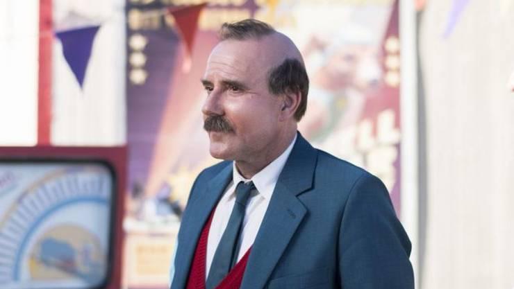 """Stefan Kurt, Darsteller des """"Papa Moll"""", im Sommer 2016 bei den Dreharbeiten. Der Film, der heute in der Deutschschweiz startet, funktioniert bei Kindern, hat der Schauspieler beobachtet."""