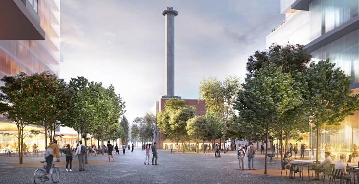 So könnte der künftige Rosentalplatz aussehen. (Herzog & de Meuron)