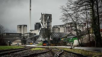 Veltheim und Auenstein wollen, dass 100 Prozent des Materials per Bahn nach Wildegg in die Jura-Cement kommen.