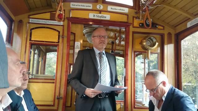 «Es geht um viel mehr als nur einfach um ein Tram»: Hans Egloff.