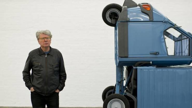 Der Aktions- und Konzeptkünstler Roman Signer wird am Samstag 80. (Archivbild).