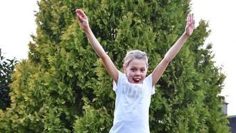 Jelena Kellerhals aus Kappel ist ein Sonnenschein, auch mit Spenderleber.
