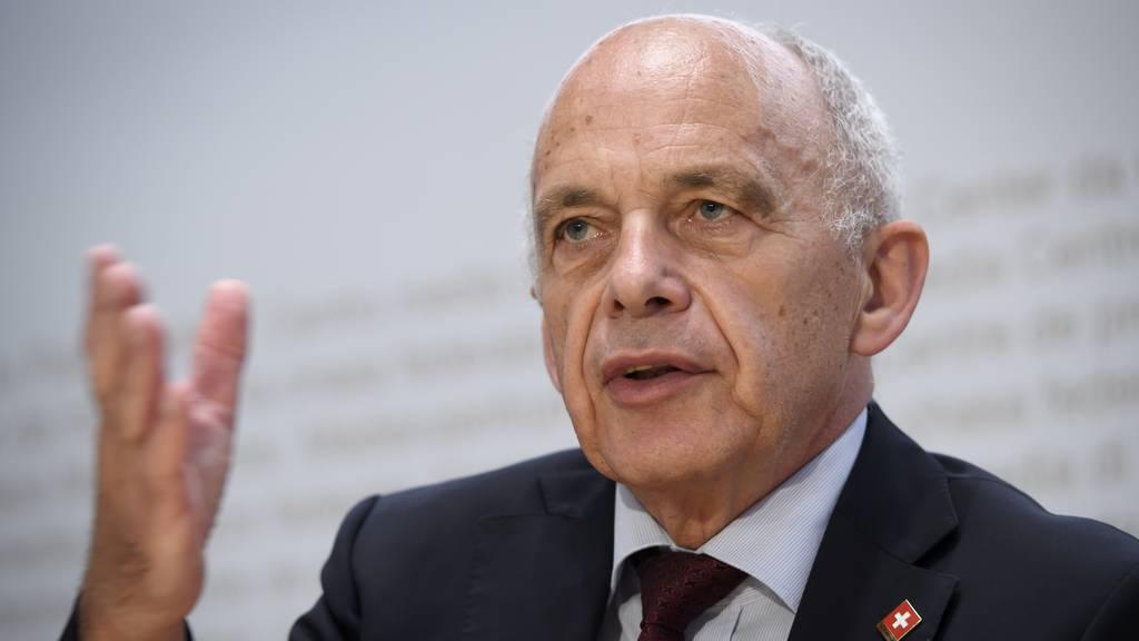 G20-Treffen: Schweiz wirbt für engere Kooperation auf internationaler Ebene