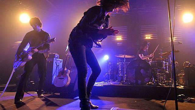 The Dead Weather bei ihrem Auftritt