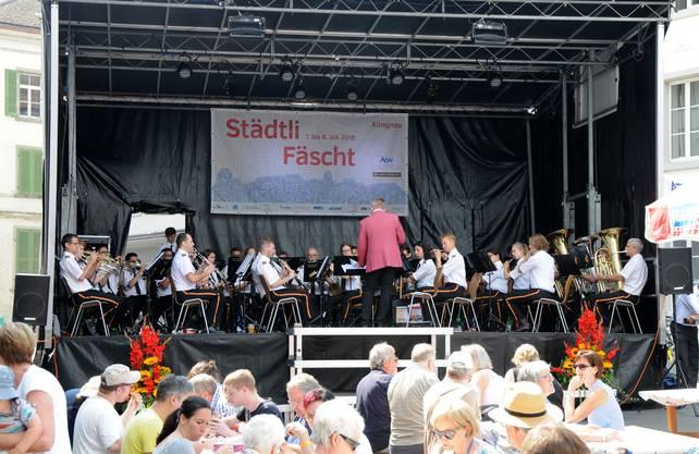 Die Stadtmusik Klingnau unterhält mit einem Konzert zum Brunch am Sonntagmorgen.
