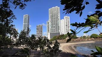 Blick auf Panama-Stadt: Der Name des Internationalen Komitees vom Roten Kreuz spielt eine entscheidende Rolle bei den Offshore-Geschäften über die Firma Mossack Fonseca - ohne es allerdings zu wissen. (Symbolbild)
