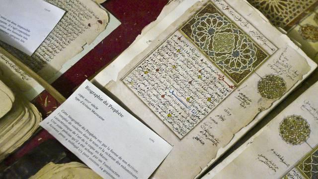Dschihadisten setzten Bibliothek mit wertvollen Handschriften in Timbuktu in Brand(Archiv)