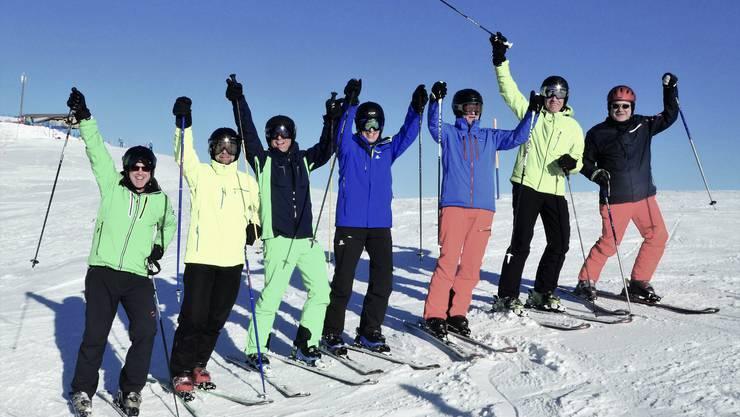 Männer 2 des TV Egerkingen im Skiweekend