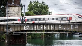 Im Zuge der Krawalle von Hamburg wurden Sympathisanten der Randalierer auch in Solothurn aktiv.