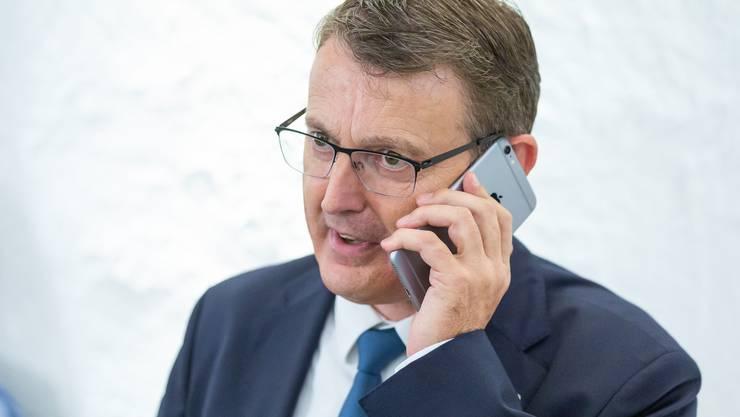 Thomas Burgherr, Präsident der SVP Aargau.