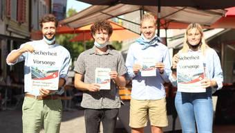 Abstimmungskampf Aargauer Parteien September 2020