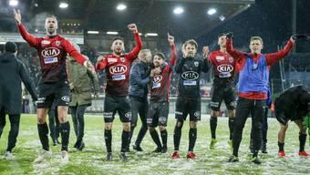 Challenge League, FC Aarau - Lausanne (4.5.19)