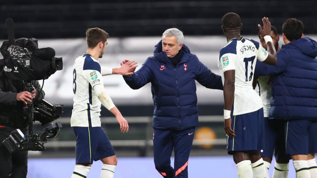 José Mourinho erreicht mit Tottenham den Ligacup-Final