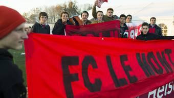 Die Fans standen am 4. Dezember bereit, um ihren Verein im Cup-Viertelfinal gegen den FC Basel anzufeuern. Jetzt müssen Sie am 5. Februar nach Basel reisen.