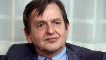 Er wurde vor 34 Jahren ermordetet: der schwedische Premierminister Olof Palme. (Archivbild)