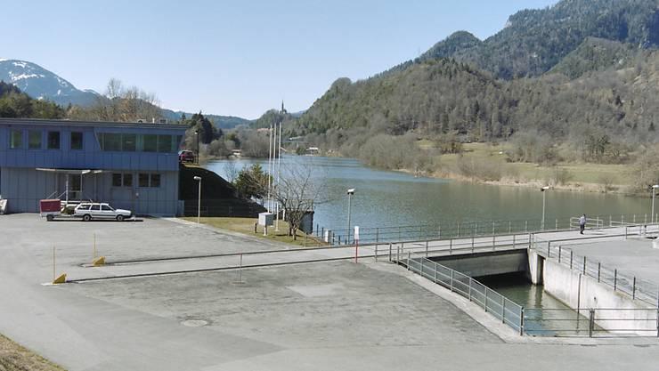 Das Wasserkraftwerk Reichenau im Kanton Graubünden. (Symbolbild)