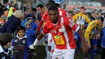 Geoffrey Serey Die im Dress des FC Sion.