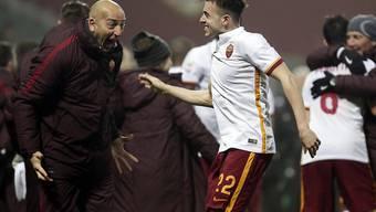 Stephan El Shaarawy traf auch in seinem zweiten Spiel für die AS Roma
