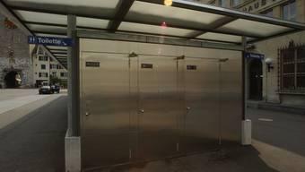 Die WCs von aussen am Amthausplatz. (Archivbild)