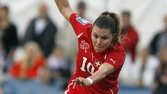 Ramona Bachmann traf gegen Spanien gleich zweimal