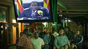 In einer Rede an die Nation gab Mugabe nicht wie erwartet seine Rücktritterklärung bekannt.