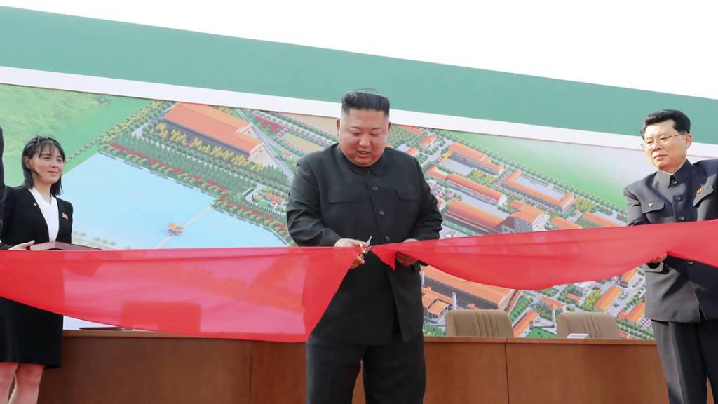 Kim Jong Un soll wieder aufgetaucht sein