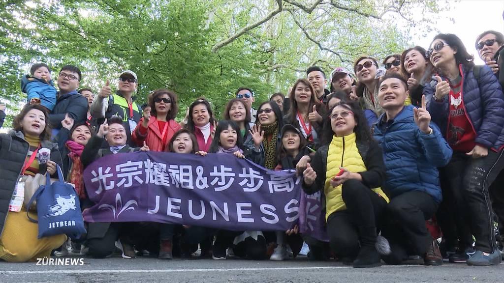 12'000 Chinesen: Luzern ist im Ausnahmezustand