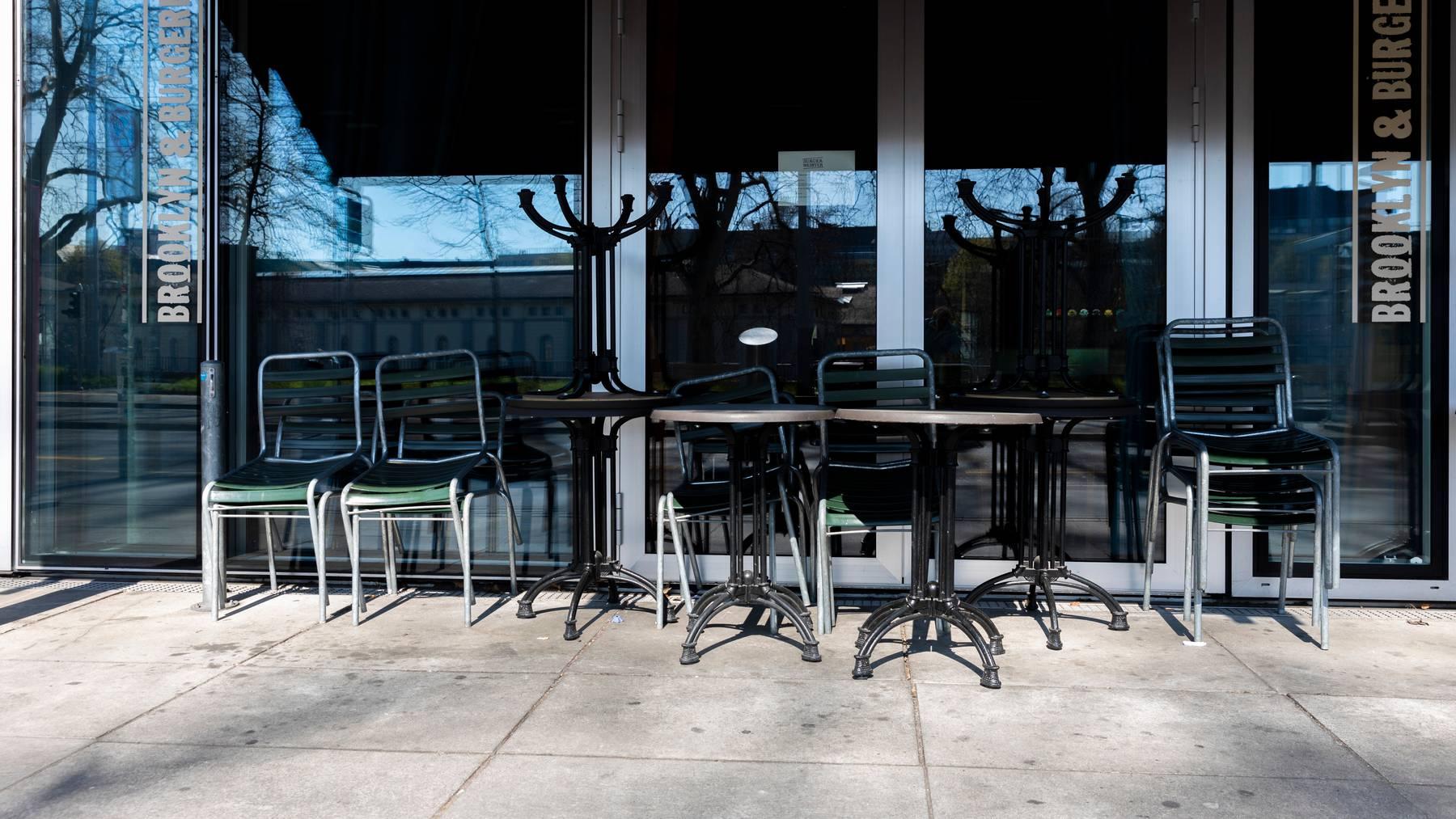 Restaurants dürfen vorübergehend ihre Aussenfläche vergrössern.