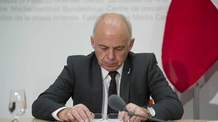 Wird von seinen Bundesratskollegen gebremst: Verteidigungsminister Ueli Maurer.