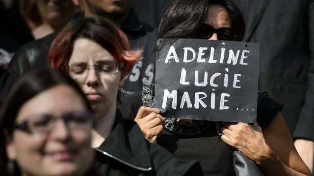 Gedenkmarsch für Gewaltopfer in Lausanne (Archiv)