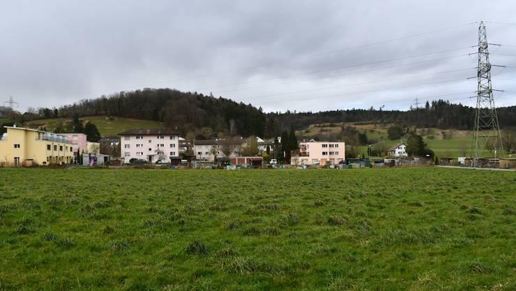 Das Gebiet Feisler dürfte bis in 15 Jahren überbaut sein. Hilfreich ist auch, dass die Hochspannungsleitungen weg kommen.
