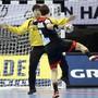 Uwe Gensheimer bezwingt Koreas Goalie Park Jaeyong